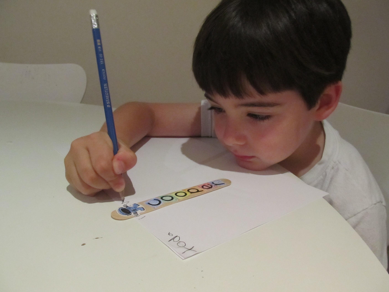 Boy Mama Teacher Mama | Spaceman for Writing