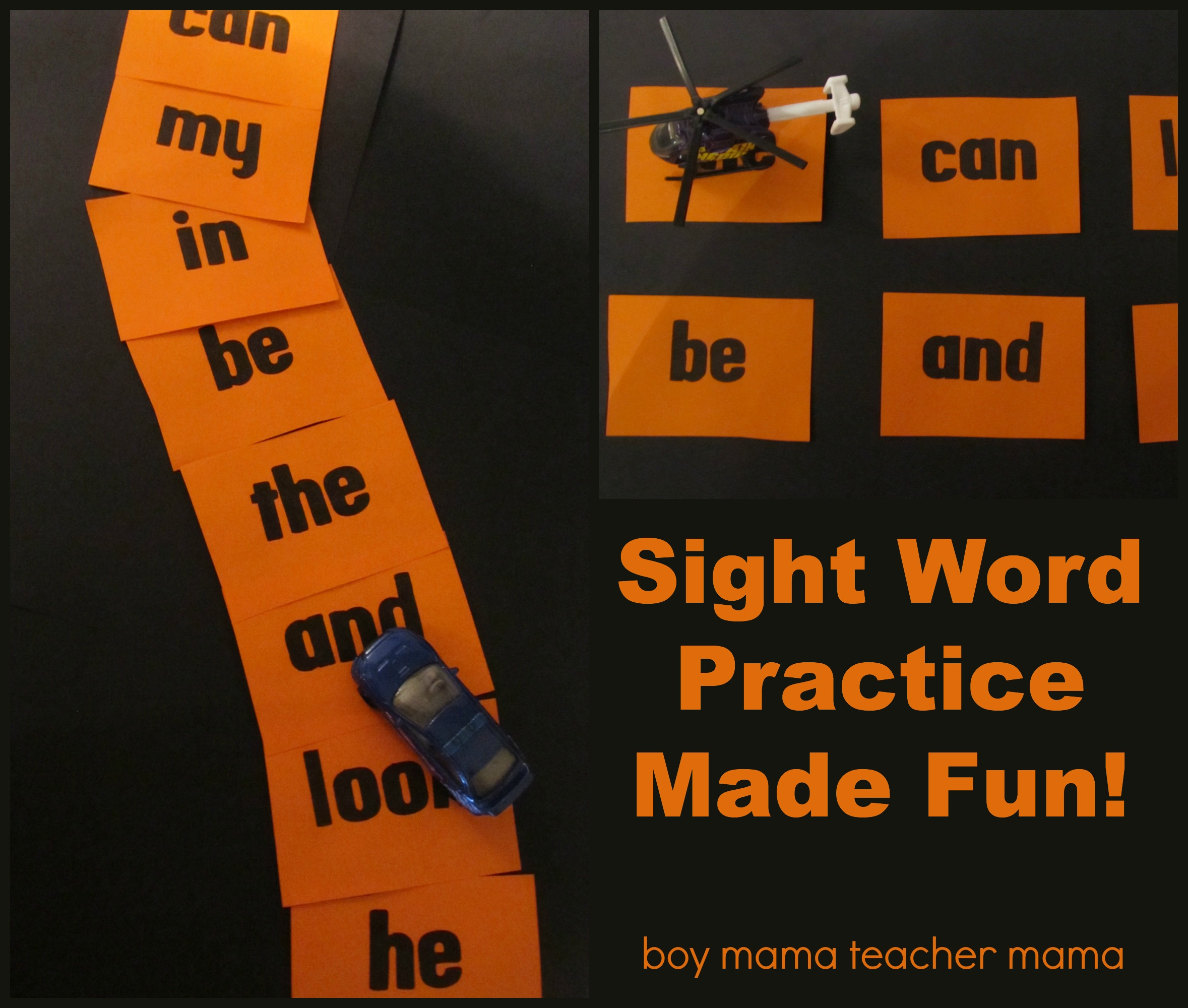 Teacher Mama: Sight Word Practice Made Fun