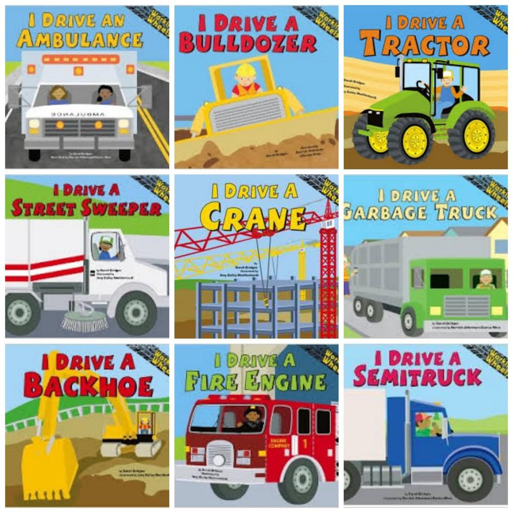 Boy Mama Teacher Mama  Books about Vehicles