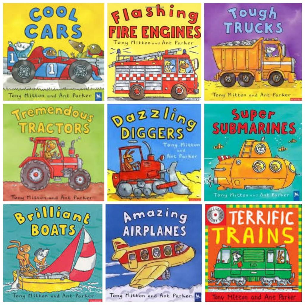 Boy Mama Teacher Mama  Books about Vehicles 2