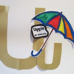 short vowel friend-- Uggie the Umbrella