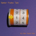 Boy Mama Teacher Mama | Number Practice Tube