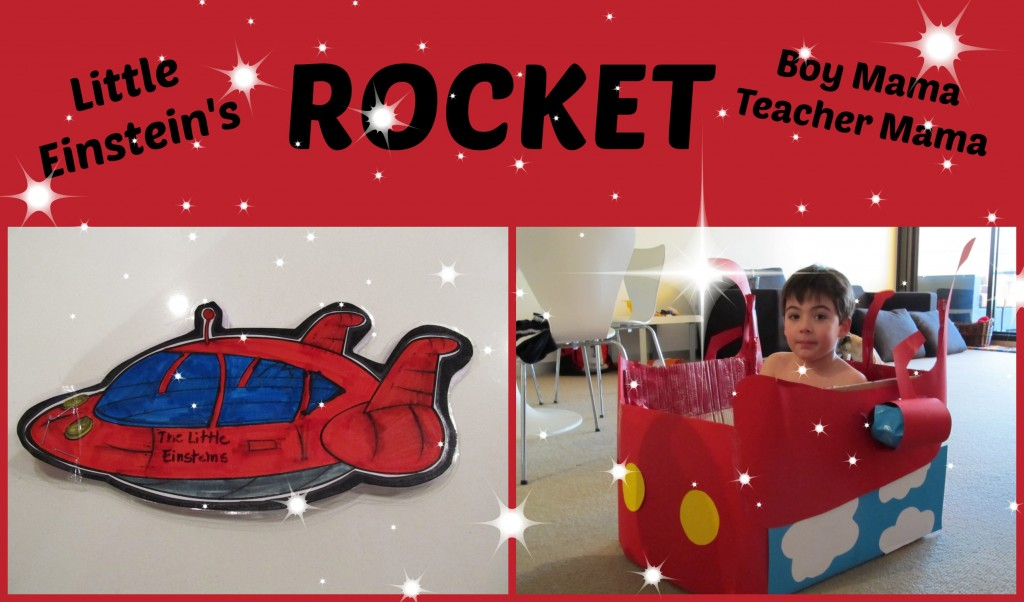 Boy Mama Teacher Mama: (Little Einsteins) Rocket