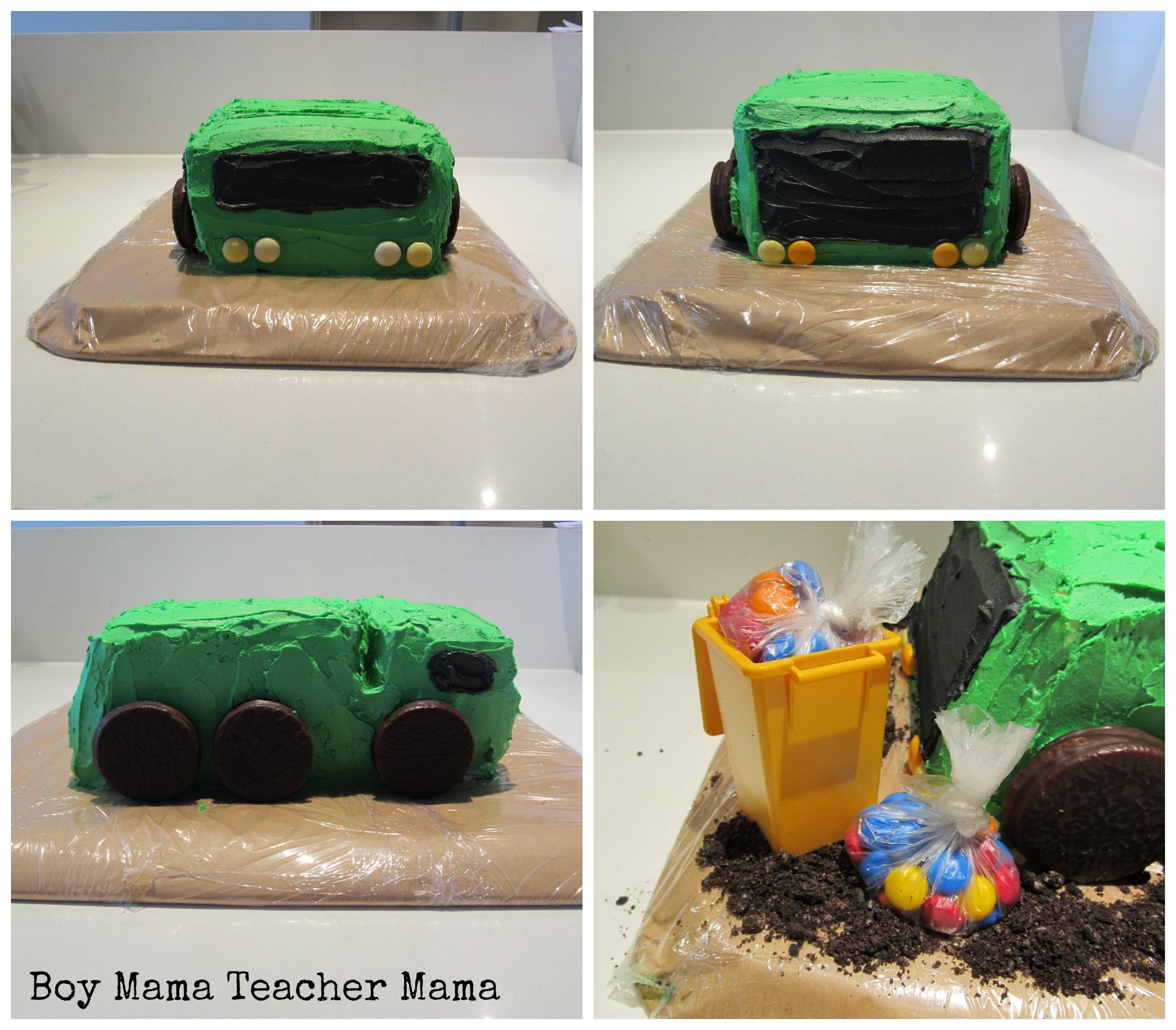 Boy Mama A Trashy Celebration A Garbage Truck Birthday Party Boy