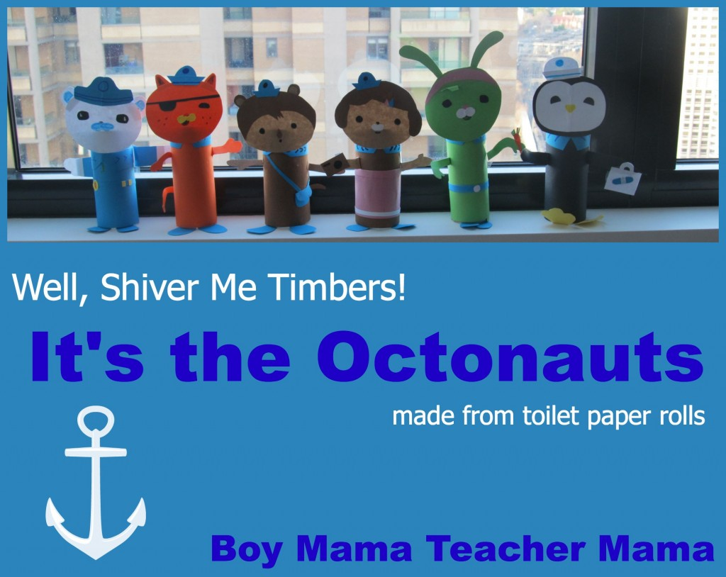 Boy Mama Teacher Mama | Octonauts