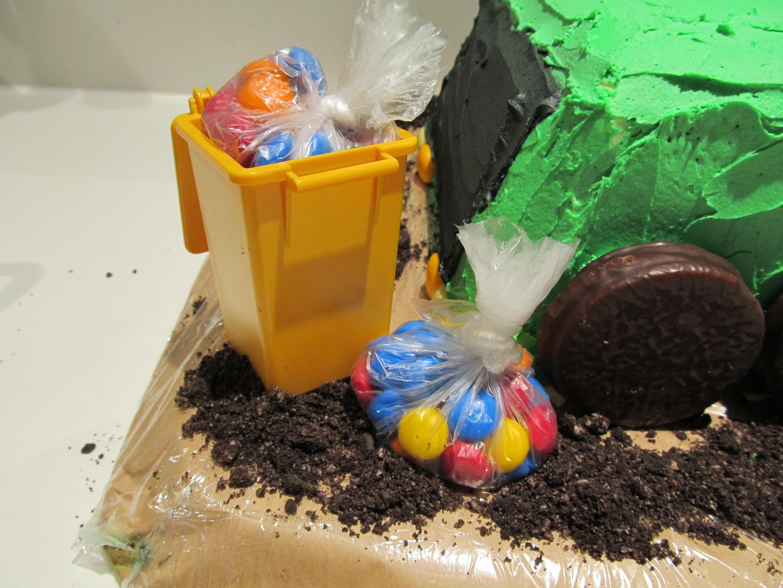 Boy Mama Teacher Mama Garbage Truck Party Cake Boy Mama