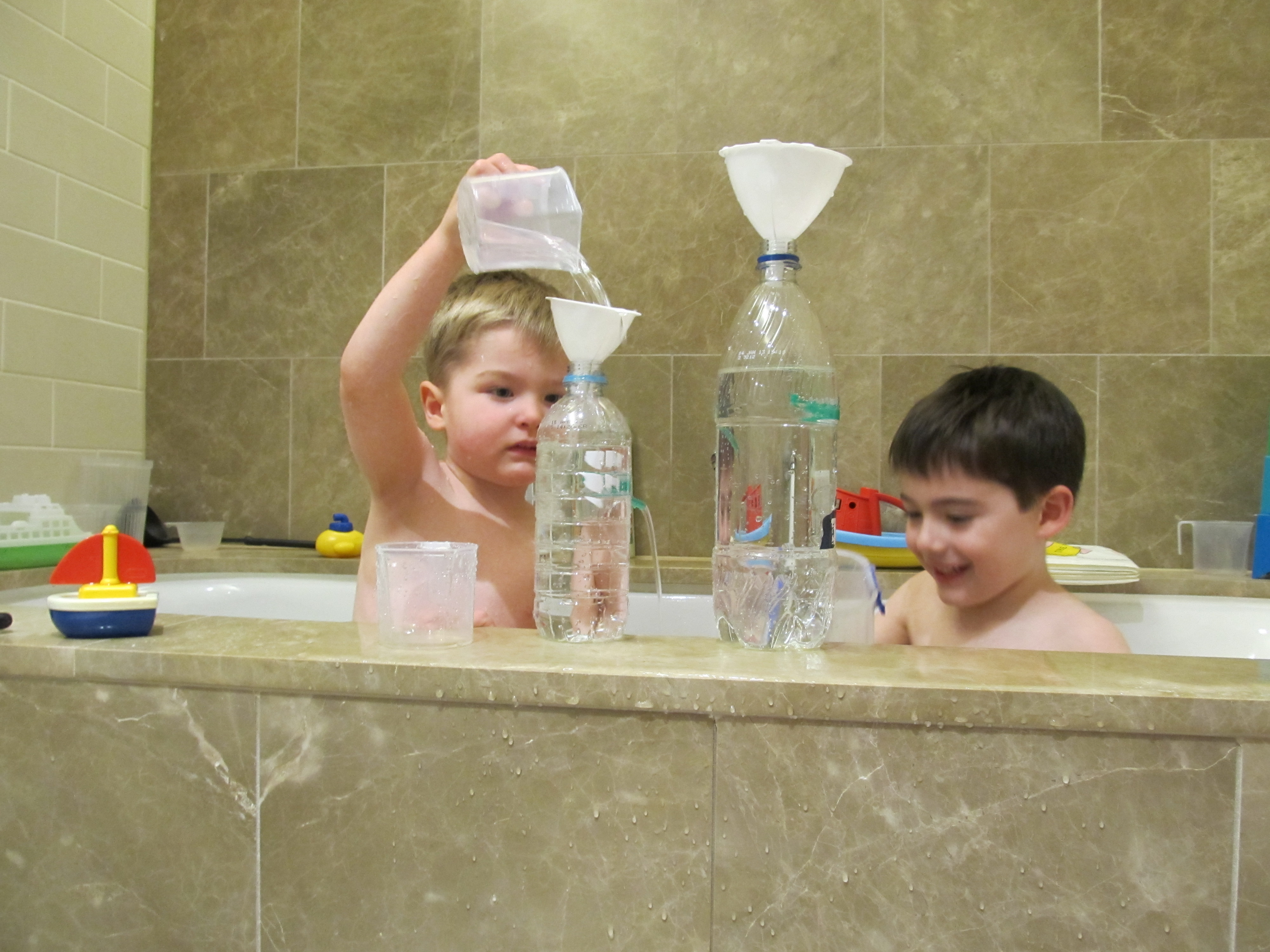 Boy Mama: Water Bottle Fountains From Learn With Play