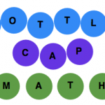 Boy Mama Teacher Mama: Bottle Cap Math