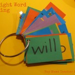 Boy Mama Teacher Mama Sight Word Ring