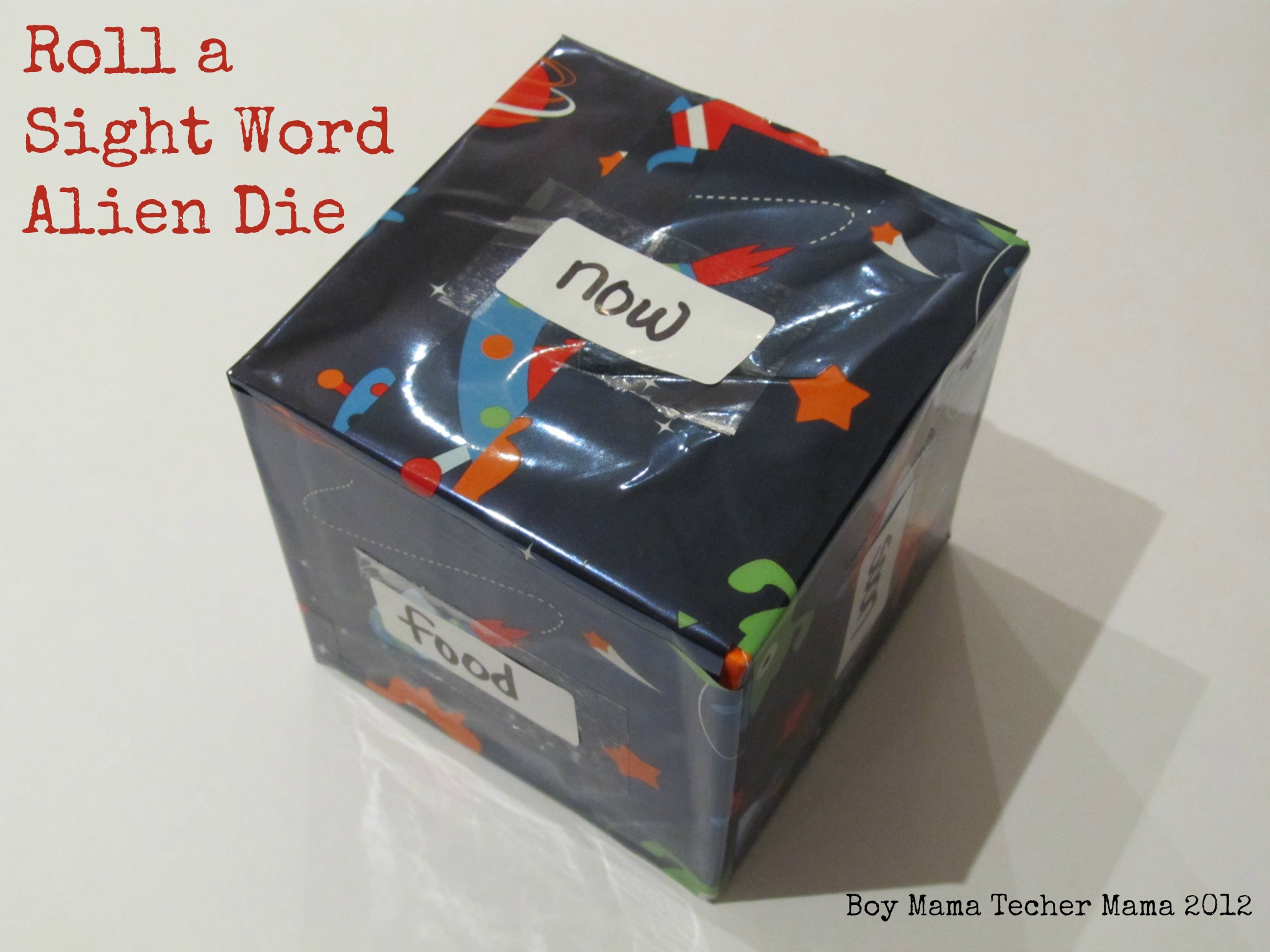 Boy Mama Teacher Mama: Sight Word Practice Box