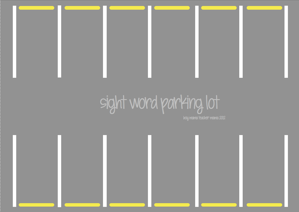 Search Results For Printable Parking Lot Template