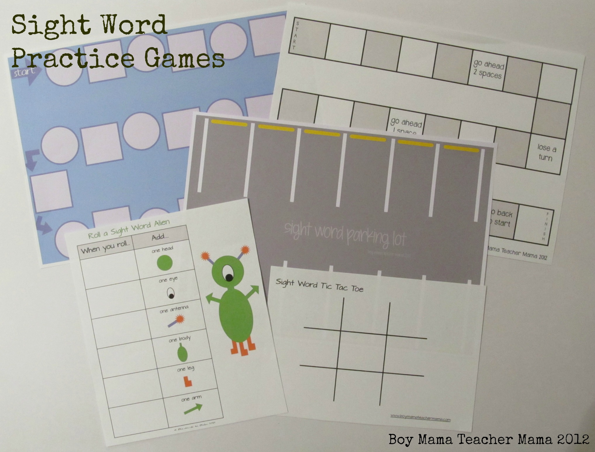 Teacher Mama Sight Word Practice Box Boy Mama Teacher Mama