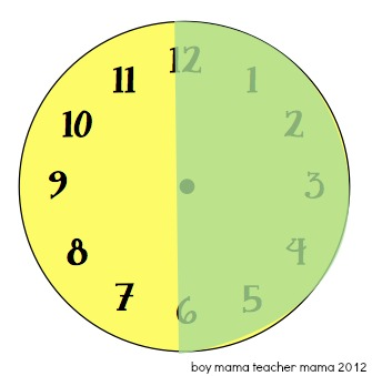 how to teach a child to read an analog clock