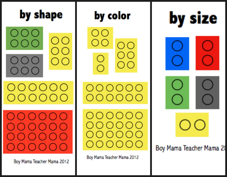 Teacher Mama Lego Structure Math Boy Mama