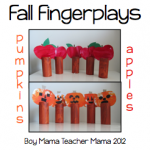 Teacher Mama: Fall Fingerplays (Pumpkins and Apples)