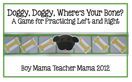 Boy Mama Teacher Mama: A Game for Teaching Left and Right