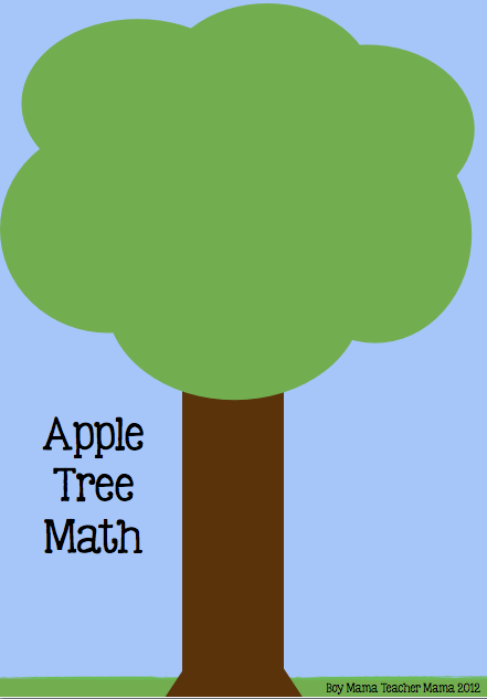 teacher mama free apple tree math game boy mama teacher mama
