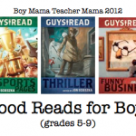 Boy Mama Teacher Mama: Books for Middle School Boys