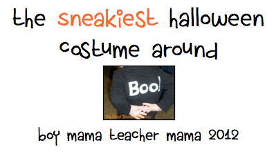 Boy Mama Teacher Mama: Halloween Costume