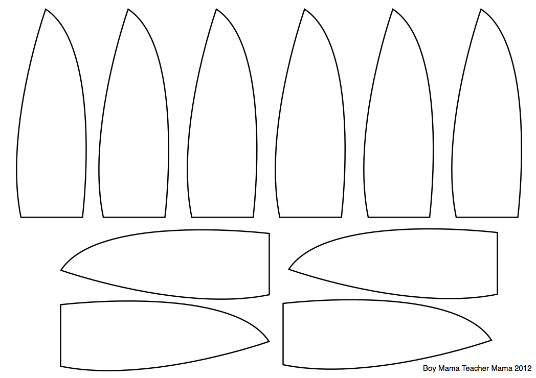 Playful image regarding free printable turkey feather template