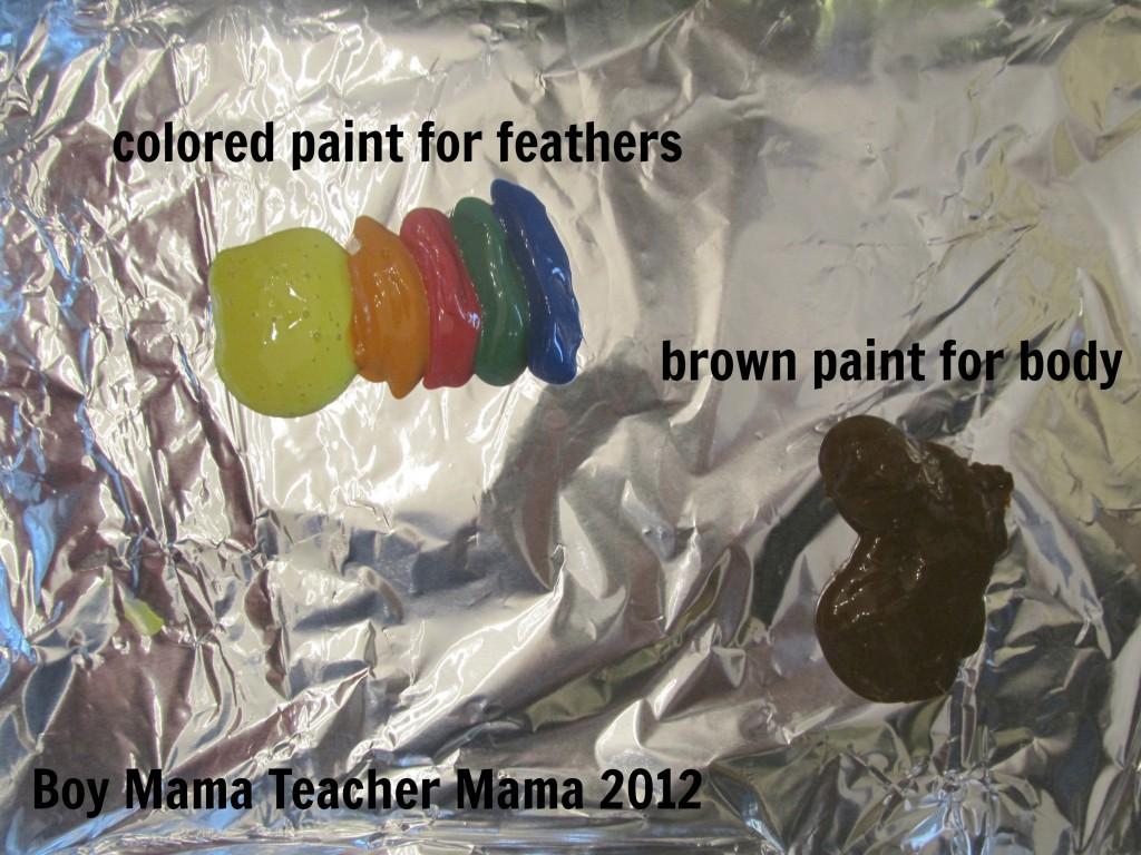 Boy Mama Teacher Mama | Handprint Turkeys without the Mess