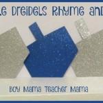 Boy Mama Teacher Mama  Five Little Dreidels
