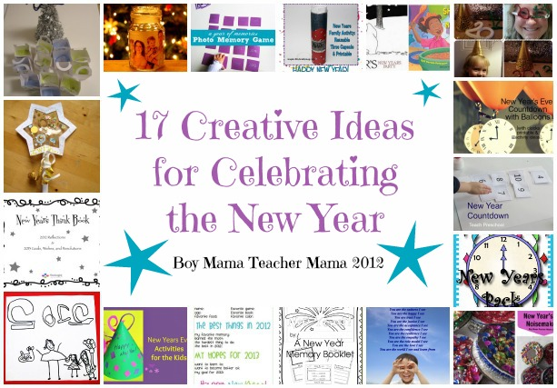 Boy Mama Teacher Mama | 17 Creative Ideas for Celebrating the New Year