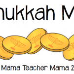 Boy Mama Teacher Mama Hanukkah Math