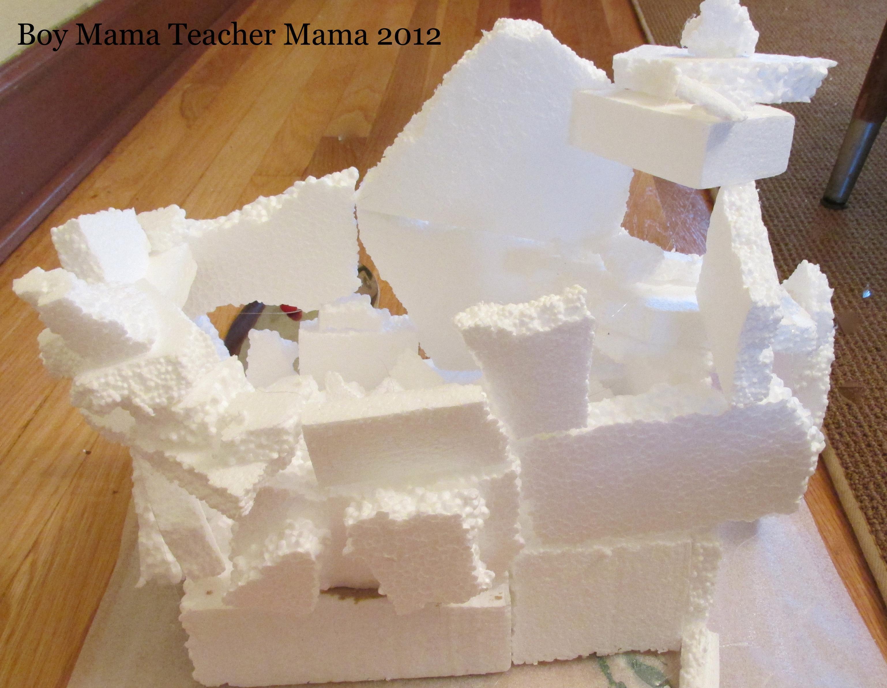 Image Gallery Styrofoam Pieces