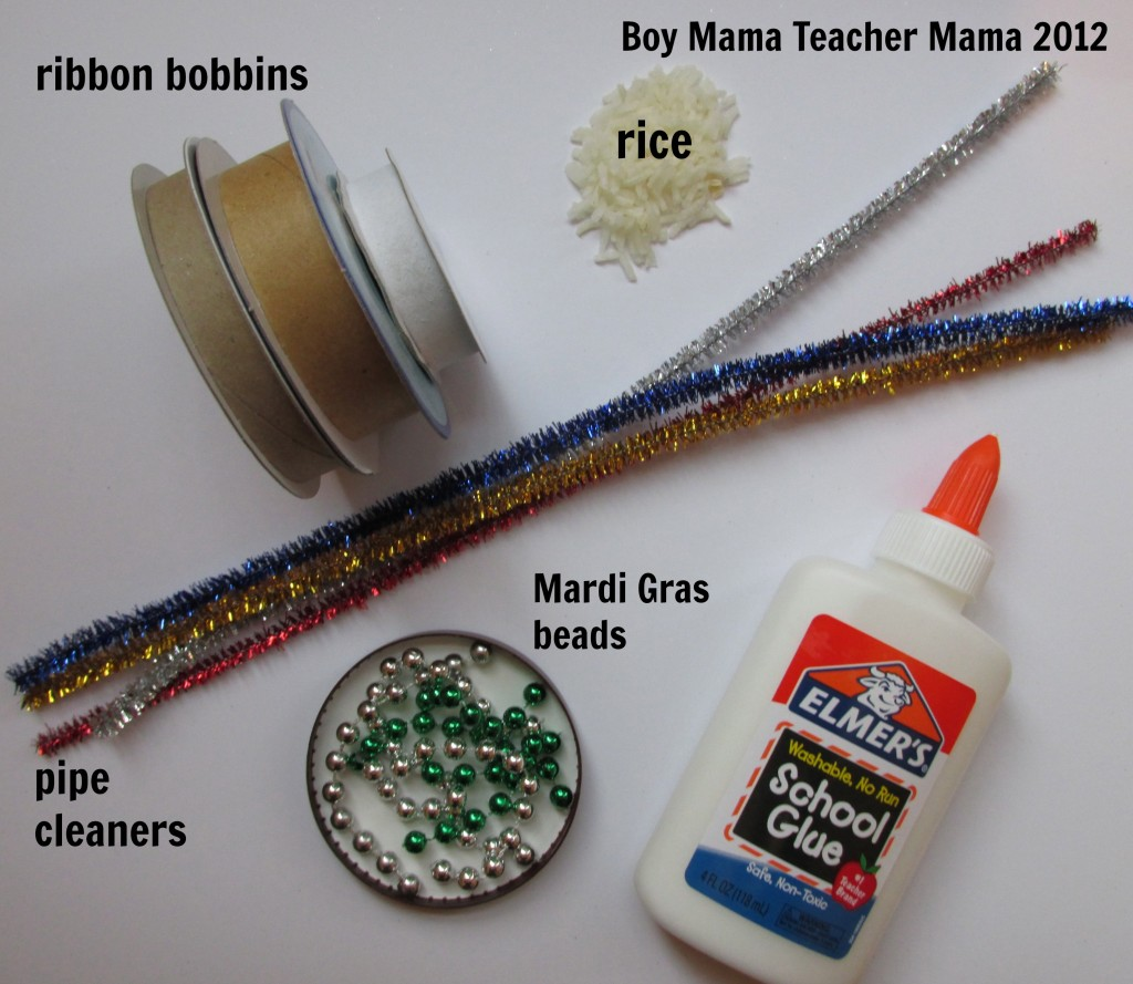Boy Mama: Homemade New Years Eve Noisemaker