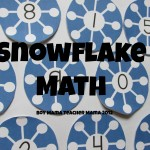 teacher mama: snowflake math