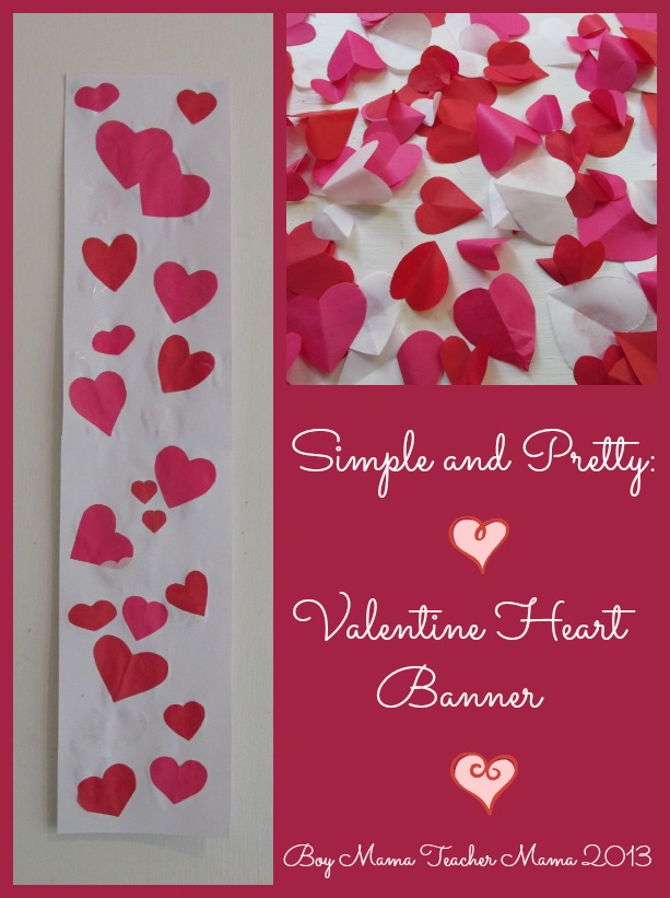 Simple and Pretty: Valentine Heart Banner