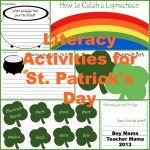 boy mama teacher mama: literacy activities for st. patrick's day