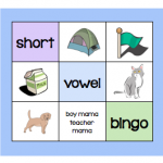 Short Vowel Bingo | Boy Mama Teacher Mama