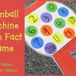 Boy Mama Teacher Mama  Gumball Machine Math Fact Game