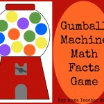 Boy Mama Teacher Mama | Gumball Machine Math Facts Game