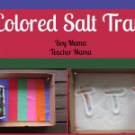 Boy Mama Teacher Mama | Colored Salt Tray