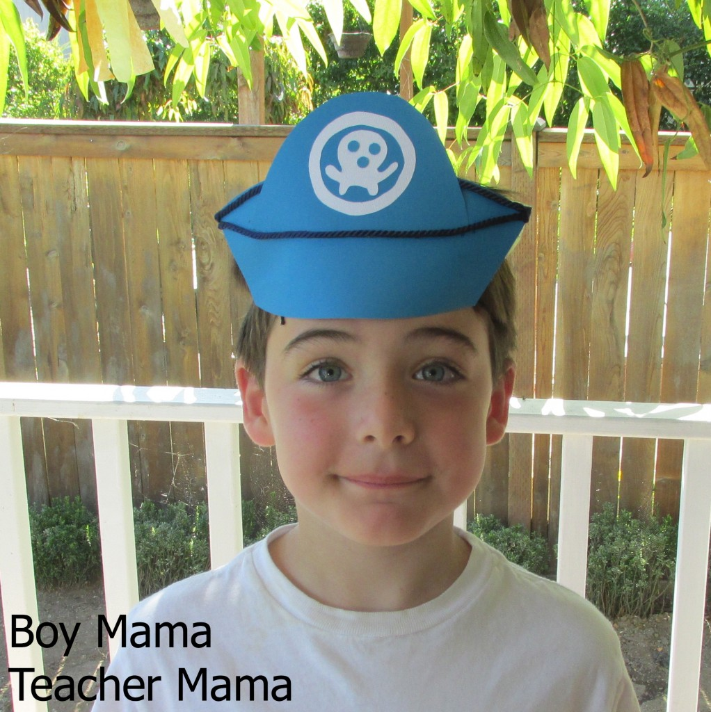 Boy Mama Teacher Mama | How to Make an Octonauts' Hat