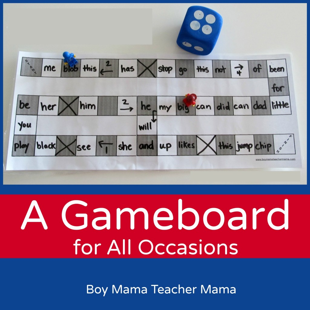 Boy Mama Teacher Mama: A Game Board for all Occasions