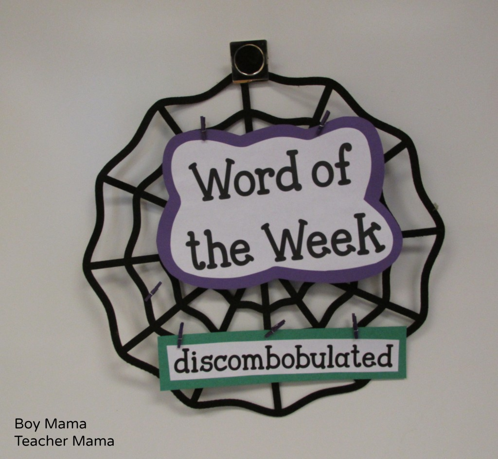 Boy Mama Teacher Mama | Spider Web Sight Words