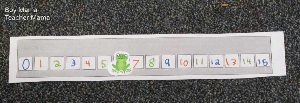 Boy Mama Teacher Mama | Teaching about Number Lines with The Number Hop