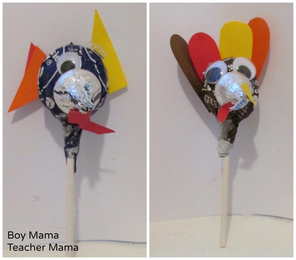 Boy Mama Teacher Mama  Thanksgiving Turkey Lollipops 7