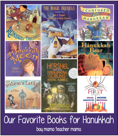 Boy Mama Teacher Mama | Our Favorite Books for Hanukkah