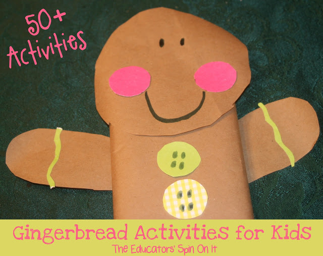Over 50 Gingerbread Activities for Kids-1