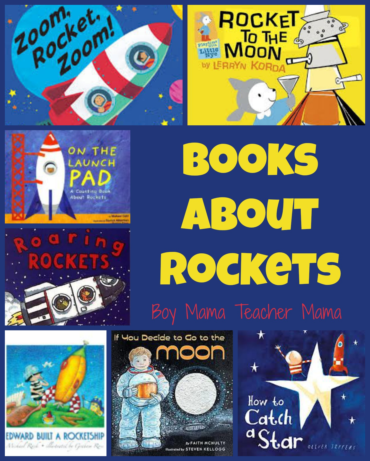 space rocket book - photo #3