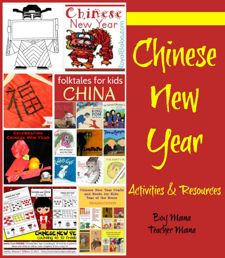 Teacher Mama: Chinese New Year Activities and Resources {After School ...