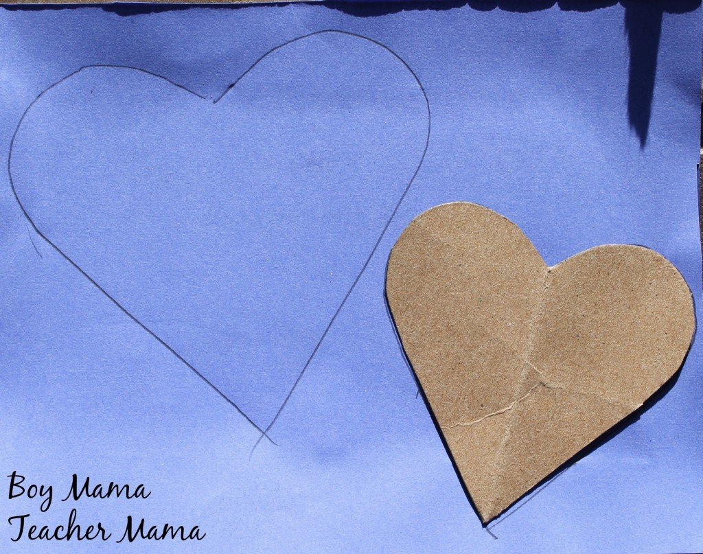 Boy Mama Teacher Mama  Five Little Valentines 5