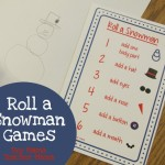 Boy Mama Teacher Mama  Roll a Snowman Games (featured)