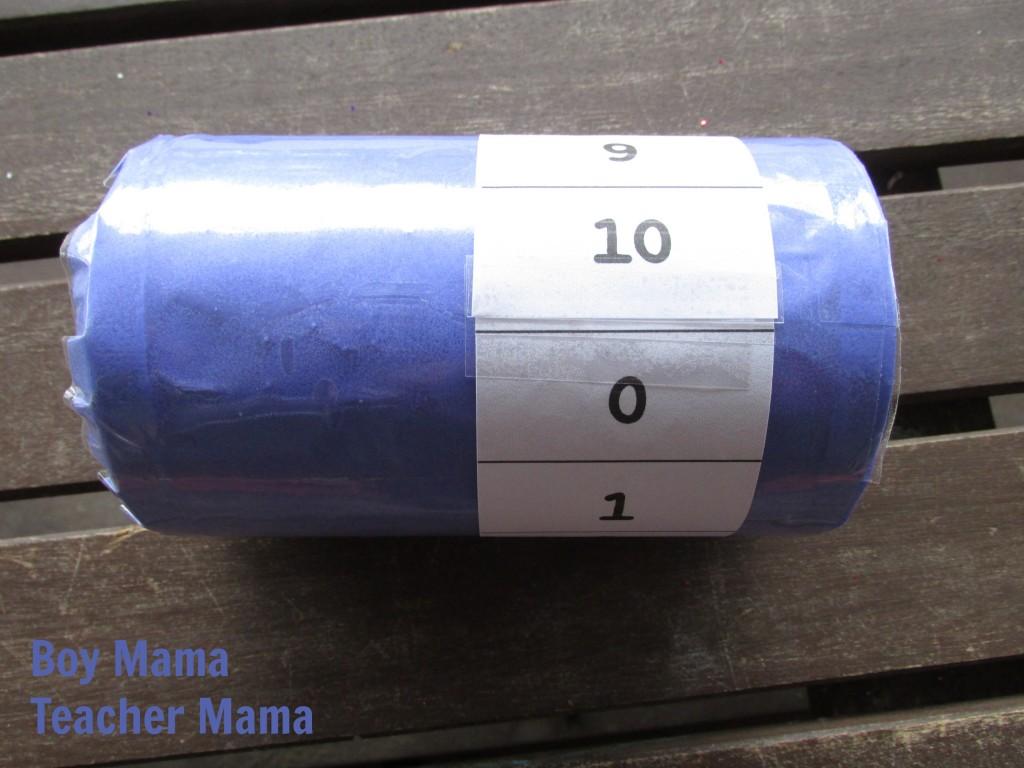 Boy Mama Teacher Mama  Salt Container Skill Practice Tube 3