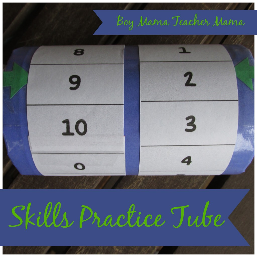 Boy Mama Teacher Mama Skills Practice Tube